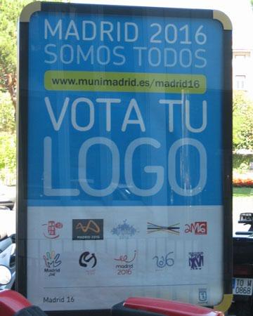 Madrid 2016, vota tu logo