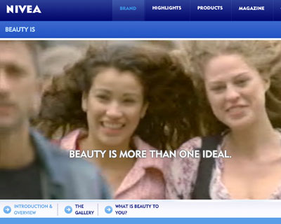 Nivea, Beauty is.