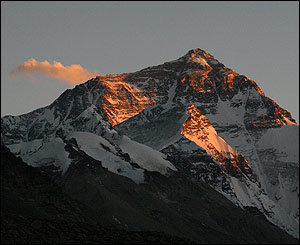 montañas tibet