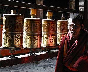 rodillos pasando tibet