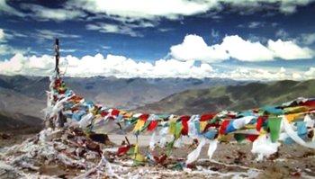 Banderas oraciones tibet