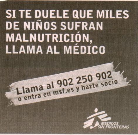 MSF campaña malnutrición miraloqueveo