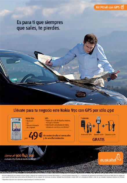 Anuncio Euskaltel ELCORREO 18 noviembre 2007