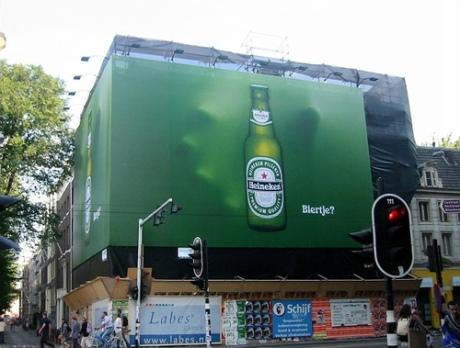 fachada publicidad heineken