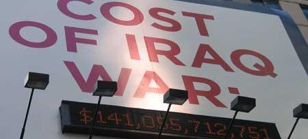 coste de la guerra de Iraq