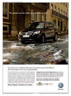 Anuncio prensa Volkswagen Tiguan