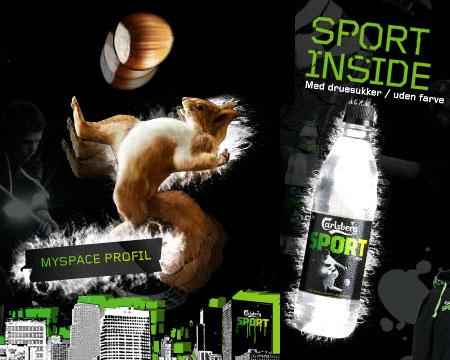 Viral Carlsberg Sport Ardilla Squirrel dinamarca spot v�deo