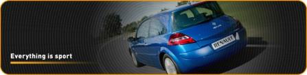 Renault Megane Sport, Everything is sport
