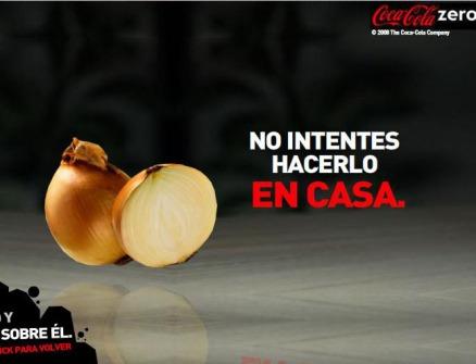 banner coca-cola zero