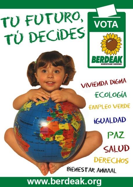 Cartel elecciones Los Verdes