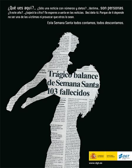 """Campaña de la DGT para Semana Santa 2008: """"Todos contamos"""" Familia"""