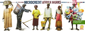 "microcréditos Benetton ""Africa Works"""