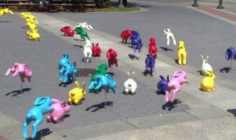 Spot Sony Bravia Play-Doh conejos