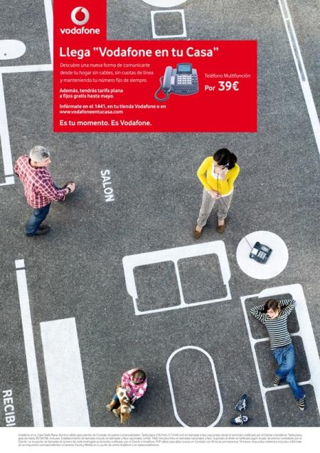 Vodafone en tu casa, Asfalto, Home Zone