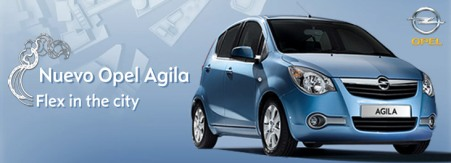 Nuevo Opel Agila 2008, Flex in the city
