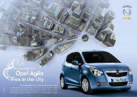 Web nuevo Opel Agila 2008