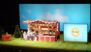 Escenario gala El Sol 2008