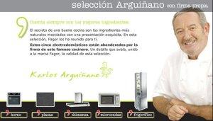 fagor seleccion Karlos Arguiñano