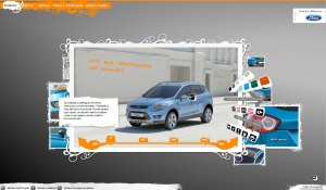 Ford Kuga Web site