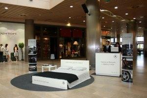 mercedes CLC camas en hoteles 2