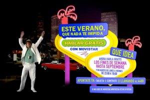 Movistar Qué idea promo verano 2008 web site
