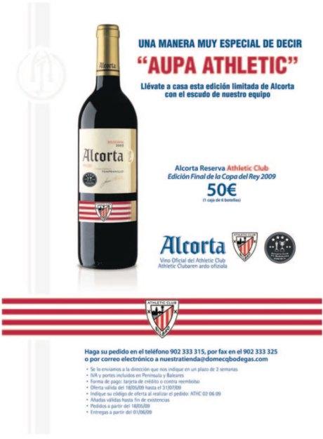 athletic alcorta 16 mayo publicidad final copa