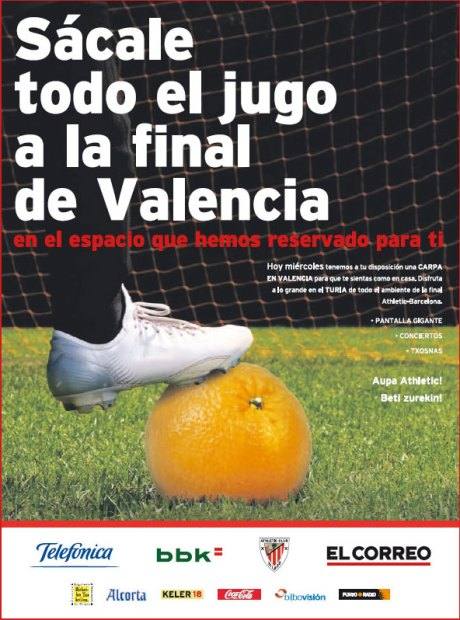 athletic hiria jugo publicidad final copa