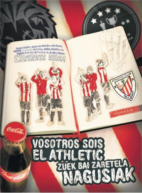 athletic cocacola 14 mayo publicidad final copa