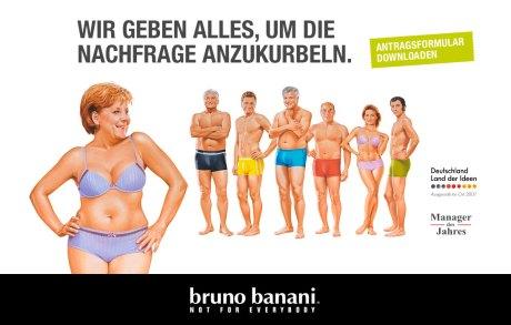 bruno banani angela merkel berlin