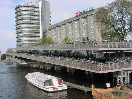 parking bicicletas amsterdam holanda