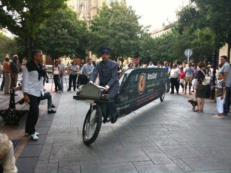 donostia bici limusina bicicleta publicidad